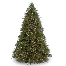 65 Ft Christmas Tree by National Tree Company 6 5 Ft Jersey Fraser Fir Tree With Multi