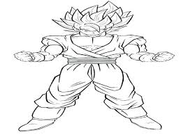Dragon Ball Z Coloring Pages Goku Super Saiyan God Free Printable Kids Images Gt Book