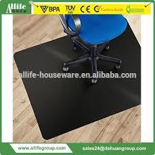 Desk Chair Mat For Carpet by Allife Black Polycarbonate Office Chair Mat 36