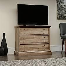 Sauder Harbor View Dresser Salt Oak by Sauder Barrister Lane 3 Drawer Salt Oak Chest 418702 The Home Depot