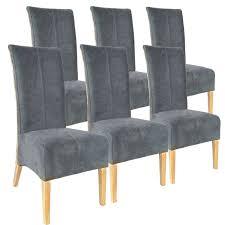 soma rattanstühle set antonio 6 stück polsterstühle esszimmer stühle braun grau oder schwarz bxhxl 47 x 105 x 58 cm capuccino