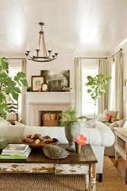 Tuscan Style Decor Living Room Farmhouse With Family Sisal Rug