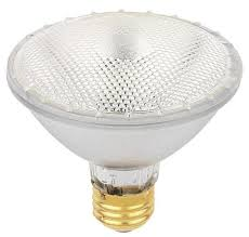 38 watt par30 eco par halogen flood light bulb 2800k e26 medium