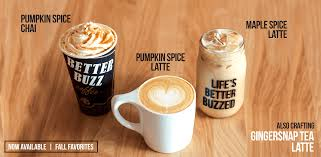 Pumpkin Spice Cappuccino Circle K by Home Better Buzz Coffee