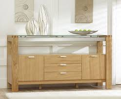 Vegas Solid Oak And Glass Dining Room Furniture 3 Drawer Sideboard Unit Cabinet Sideboards Gumtree
