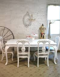 Shabby Chic Dining Room Table And Chairs by Cottage Chic Furniture