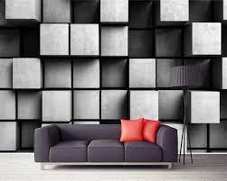beibehang custom tapete wohnzimmer schlafzimmer hintergrund 3d tapete europäischen kreative cube 3d tv wand tapete für wände 3 d