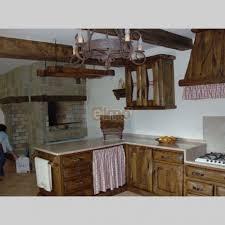 cuisine rustique chene elements de cuisine rustique chêne massif campagn