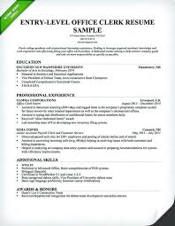 Samples Resume Ideas General Office Clerk Resumes