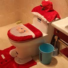 fpengfashion weihnachten samt santa toilettensitz abdeckung