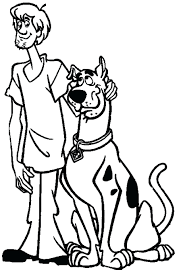 Free Printable Scooby Doo Coloring Sheets Draw Pages For Your Seasonal Colouring Christmas Full Size