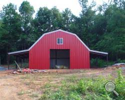 Steel Steel Pole Barns for Sale