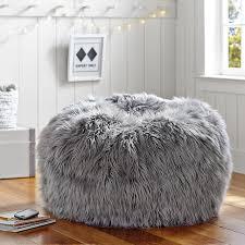 Gray Fur Rific Beanbag