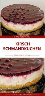kirsch schmandkuchen