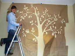 Image Of Tree Stencil For Wall
