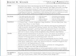 Military Veteran Resume Examples Army Example