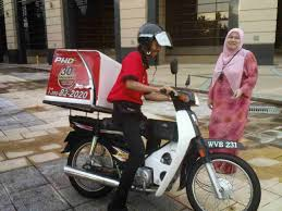 Pizza Hut Delivery Bike