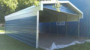 Carports : Double Garage With Carport Metal Garage Awnings Metal ... Carports Carport Awnings Kit Metal How To Build Used For Sale Awning Decks Patio Garage Kits Car Ports Retractable Canopy Rv Garages Lowes Prices Temporary With Sides Shop Ideas Outdoor Alinum 2 8x12 Double Top Flat Steel