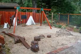 Leaving The Ivory Tower: Natural Materials Waldorf Playground 34 Best Diy Backyard Ideas And Designs For Kids In 2017 Lawn Garden Category Creative To Welcome Summer Fireplace Plans Large And On A Budget Fence Lanscaping Design Wall Rock Images Area Cheap Designers Small Playground Amys Office How Build A Seesaw Howtos Kidfriendly Yard Makes Parents Want Play Too Kid Friendly For Interior Gorgeous 40 Cute Yards Tasure Patio Fniture Capvating Wooden Playsets Appealing