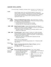 Sample Good Resumes Resume Layout Example Professional Profile Customer Service
