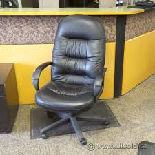 Black Leather Global High Back Chair - Allsold.ca - Buy & Sell Used ... Highback Executive Chair Brown Za Global Llc Shadow High Back Synchro Tilter Glb2710l450 Luray Leather Wpolished Base Arms Chairs Common Sense Office Fniture Global Ncorde Leather 24 Hour Fully Adjustable High Back Executive Labers Halia Working Koleksiyon Mesh Task Now Glides Conference Room Seating For Sale Joyce Contract 4003 Arno High Back Leather Tilter Chair With Loop Arms 3d Models Products Herman Miller White