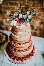 Victoria Sponge Naked Wedding Cake