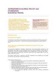 18 Business Travel Policy V5 0