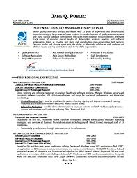 Quality Assurance Resume Example How To Write A For