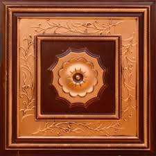 24x24 Pvc Ceiling Tiles by Ceiling Tiles By Us 219 Antique Copper Pvc Ceiling Tile