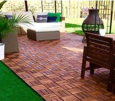 Check Out How This IKEA Fan Used Outdoor Furniture And RUNNEN Floor Decking To Create A