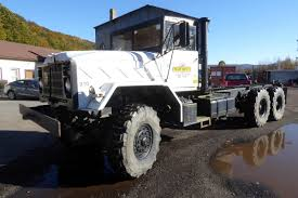 100 240 Truck 1986 AM General M927A1 Tandem Axle Cab Chassis For Sale By