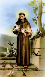 francis of assisi prayer card