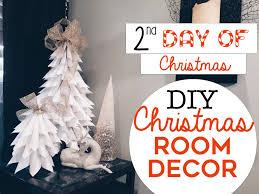 Plastic Wrap Your Christmas Tree by 3 Easy Christmas Room Decor Diy U0027s 2nd Day Of Christmas Diy
