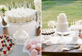 White Wedding Desserts And Cake By Cocoa Fig