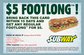 Coupons Subway : Print Discount Top 10 Punto Medio Noticias Bulldawg Food Code Smashburger Coupon 5 Off 12 Coupons Deals Recipes Subway Print Discount Firehouse Subs 7601 N Macarthur Irving Tx 2019 All You Need To Valpak Coupons Findlay Ohio Code American Girl Doll Free Jerry Subs Coupon Oil Change Gainesville Florida Myrtle Beach Sc By Savearound Issuu Free Birthday Meals Restaurant W On Your New 125 Photos 148 Reviews Sandwiches 7290 Free Sandwich From Mullen Real Estate Team Donate 24pack Of Bottled Water Get Medium Sub Jersey Mikes Printable For Regular Page 3