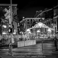 Gas Lamp Des Moines by Black U0026 White Photography Print Of The San Diego Light Rail
