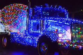 100 Lights For Trucks VIDEO Truck Light Parade Lights Up Downtown Campbell River