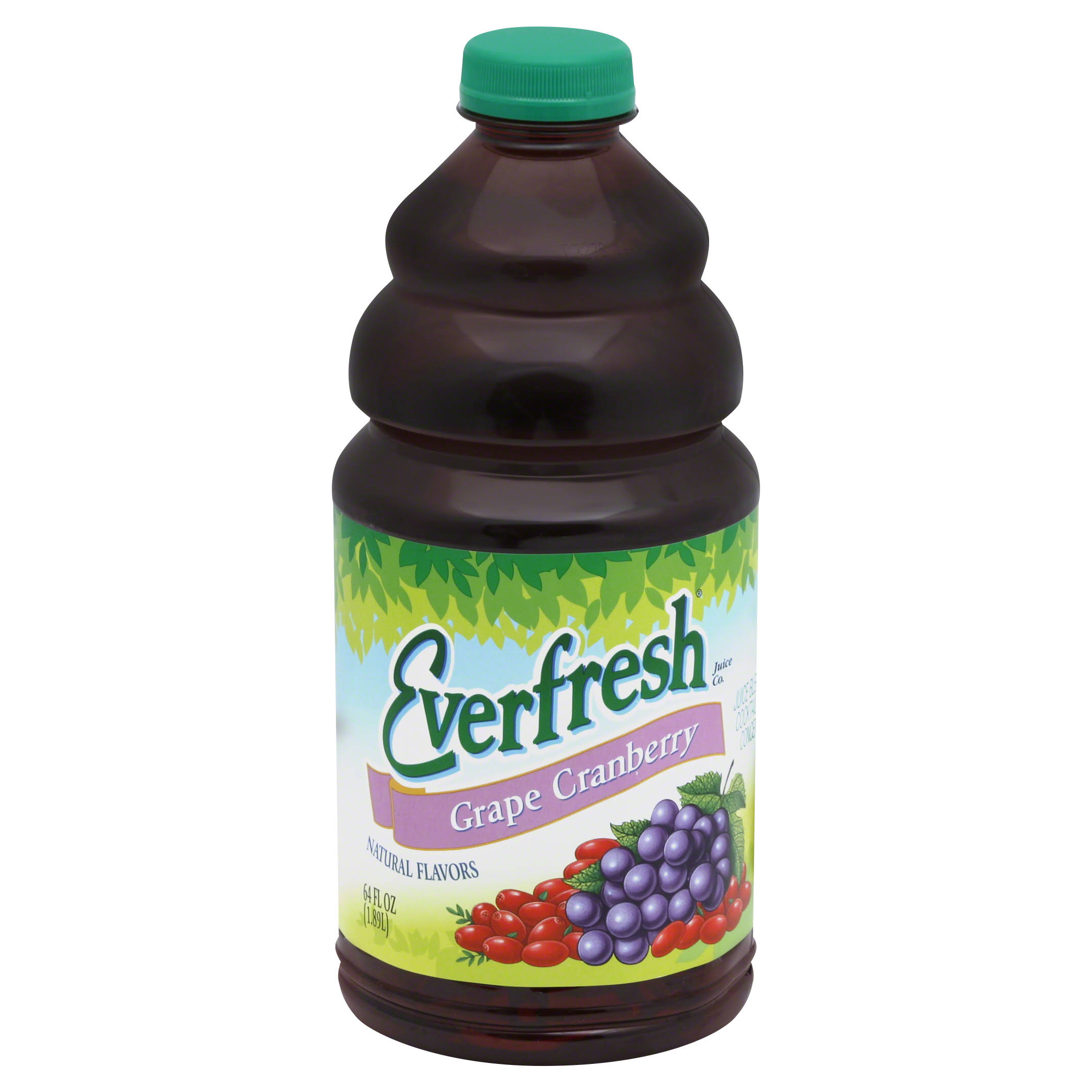 Everfresh Juice Blend Cocktail, Grape Cranberry - 64 fl oz