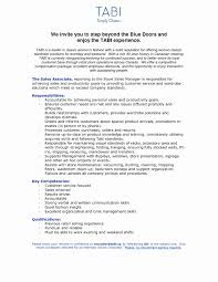 Sample Resume For Jewelry Sales Associate Fresh Retail Resumes