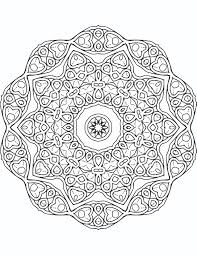 Emejing Art Therapy Coloring Pages Mandala Contemporary And Calming