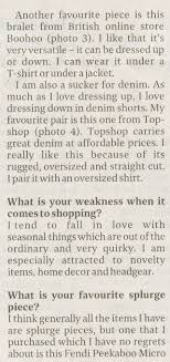 A Photograph Of The Subject Description Interviewee Casual Interview In Form QA As Well Featured Clothing Articles Neatly