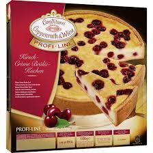 conditorei coppenrath wiese profi line kirsch crème brûlée kuchen 1500g