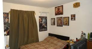 Rob Zombie Captain Spaulding Mask Bedroom Ugly Cluttered Poor Bad Home Staging Mesa Arizona House For