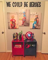 Remind Your Kid Every Day How Super They Are Find This Cool Superhero Room Idea