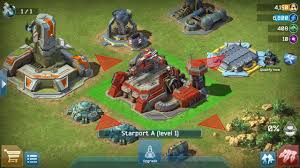 Battle For Galaxy RTS Android and IOS gameplay A good game to
