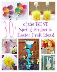 Over 30 Of The BEST Spring Project Easter Craft Ideas From KitchenFunWithMy3Sons