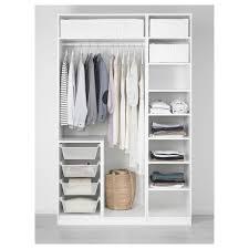 pax kleiderschrank weiß bergsbo weiß 150x60x236 cm