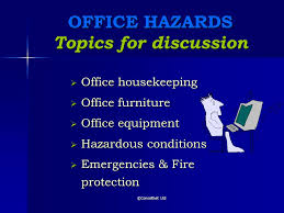 Image Gallery office safety topics