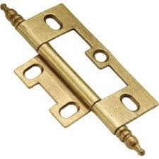 non mortise hinge pair of 2 non mortise cabinet hinges in oil