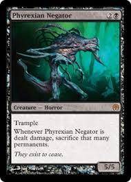 phyrexian negator duel decks phyrexia vs the coalition